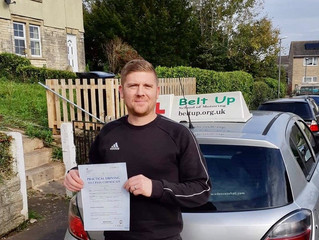 🔴 TEST PASS! 🔴  Darren Rutter passed his driving test FIRST TIME!