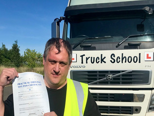Mark Moore-Kibbey passed his class 1 test today!