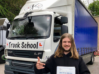 Adam Reeves passed his class 2 test FIRST TIME!