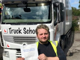 Anthony Powell passed his class 1 test FIRST TIME!
