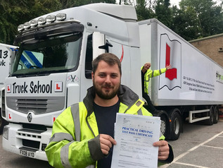 Luke Carter passes his class 1 test FIRST TIME!