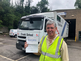 Stephen Jarvis passed his class 2 test!