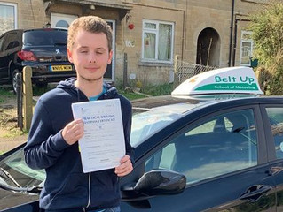 🔴 TEST PASS! 🔴  Tom Bryan passed his driving test FIRST TIME!