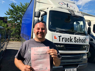 Adrian McKinley passed his Mod 4 CPC test FIRST TIME!