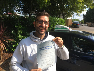 🔴 TEST PASS! 🔴  Congratulations to Tony Pittalis for passing FIRST TIME!