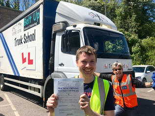 Richard Vile passed his class 2 test!