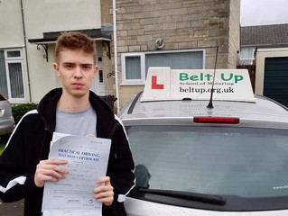 🔴 TEST PASS! 🔴  Brad Hughes passed his driving test FIRST TIME!