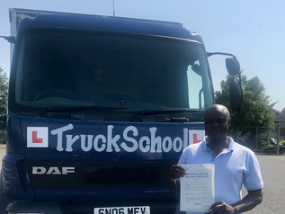 Elphas Gunguwo passed his class 2 test today!