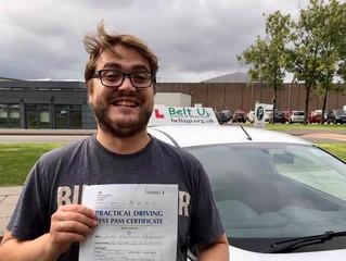 🔴 TEST PASS! 🔴  Luke Haywood passed his driving test!