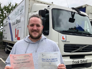 Andy Booker passed his class 2 and mod 4 CPC FIRST TIME today!