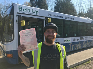 Tom Stentaford passed his bus Mod 4 CPC FIRST TIME!