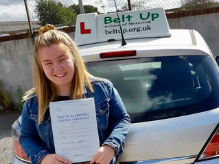 🔴 TEST PASS! 🔴  Charlie Kent passed her driving test FIRST TIME!