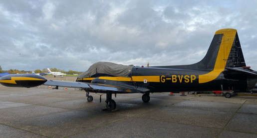 Jet Provost G-BVSP November 2019 Rear Po