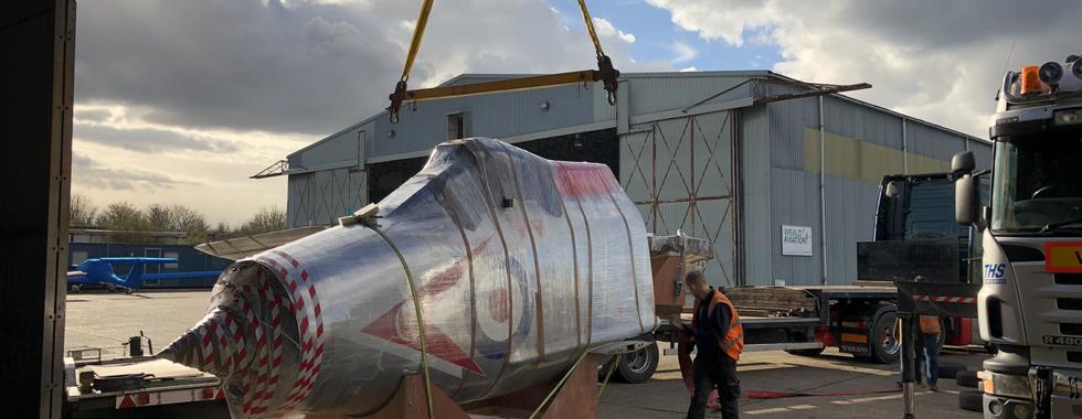XP745 English Electric Lightning Refinish for Vanguard Storage Ltd