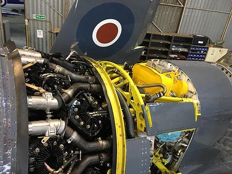 Hawker Sea Fury, Centaurus Engine, Radial Engine, Piston Engne