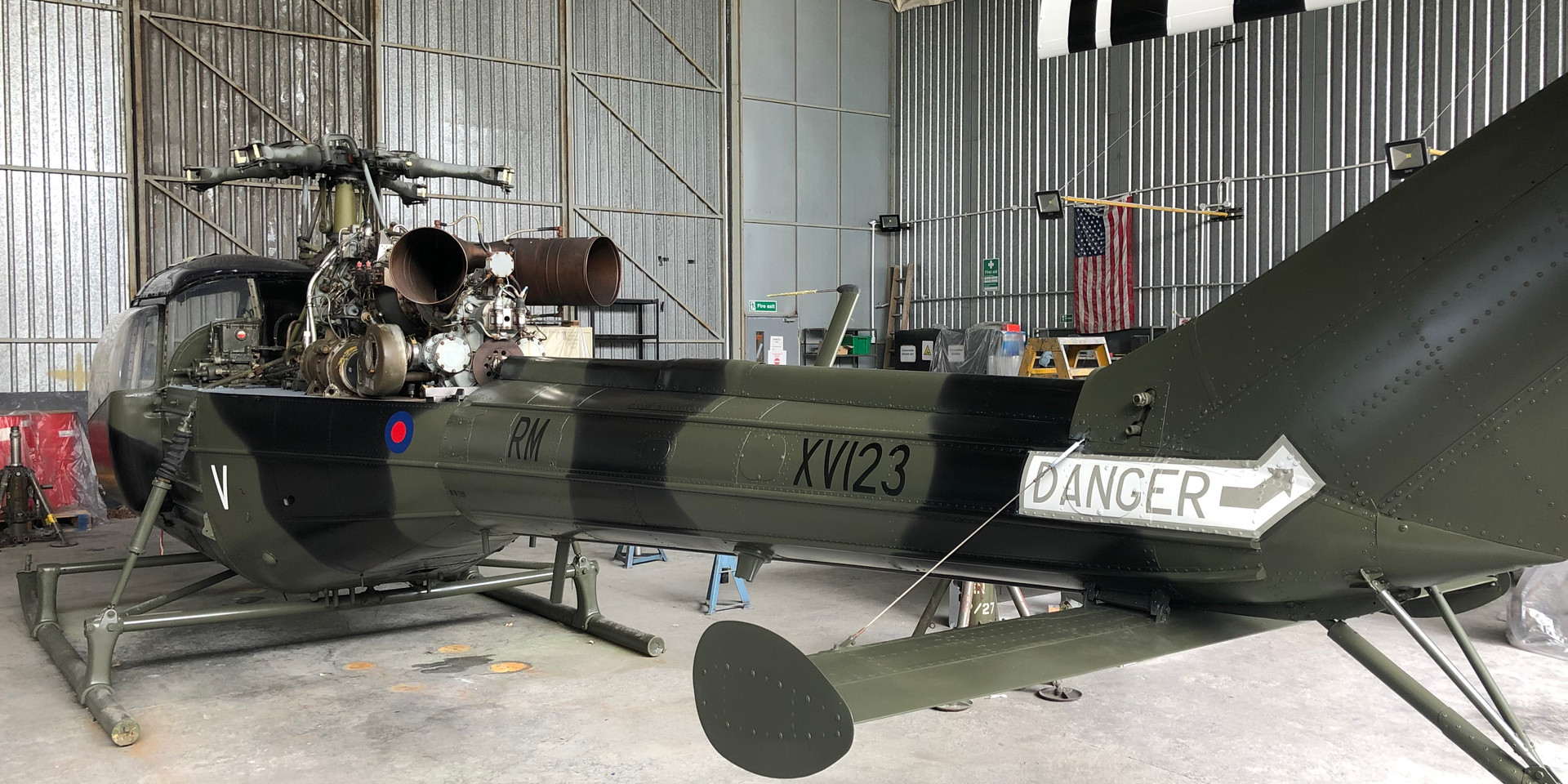 XV123 Westland Scout - Refinishing Process