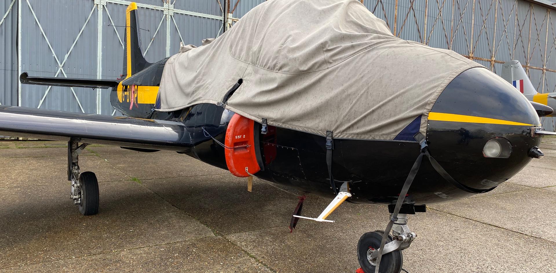 Jet Provost G-BVSP November 2019 Front V