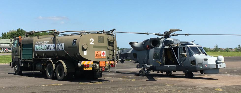 Weald Aviation services / Royal Navy Wildcat