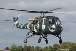 Weald Aviation Services are one of the U.K's largest maintenance providsers for Westland Wasp and Westland Scout aircraft