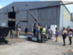 Filming, North Weal Airfield