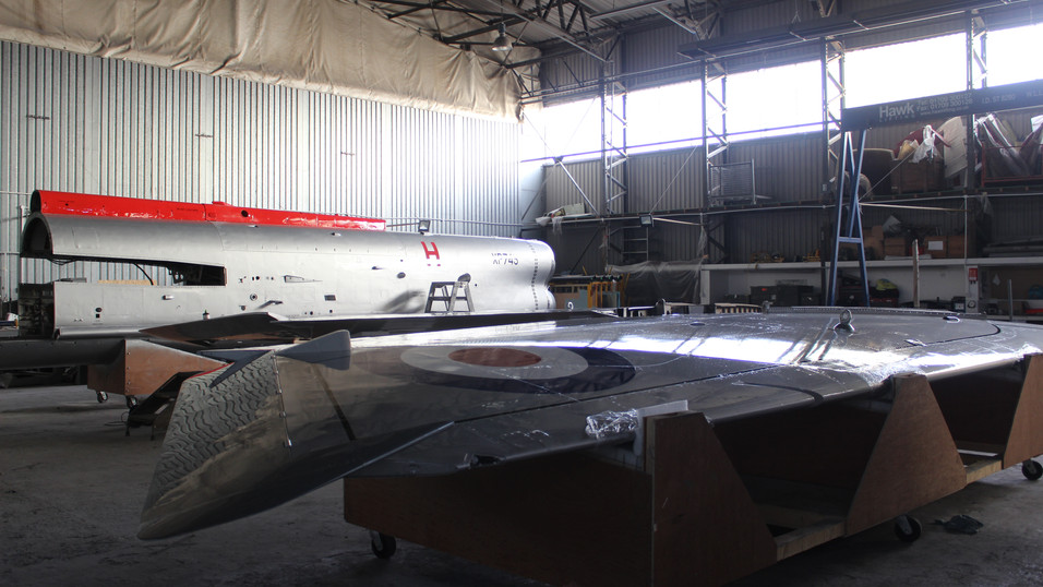 XP745 English Electric Lightning Refinish for Vanguard Storage Ltd
