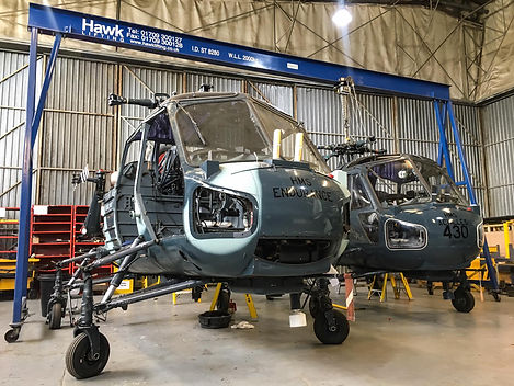 Westland Wasp Aircraft, Engineering, Heliopter