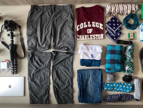 My Basic Packing list