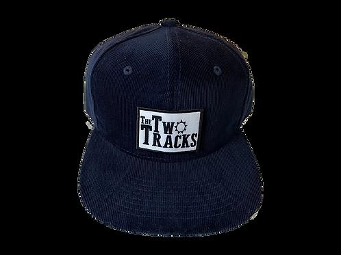 Dark Blue Corduroy Trucker Hat