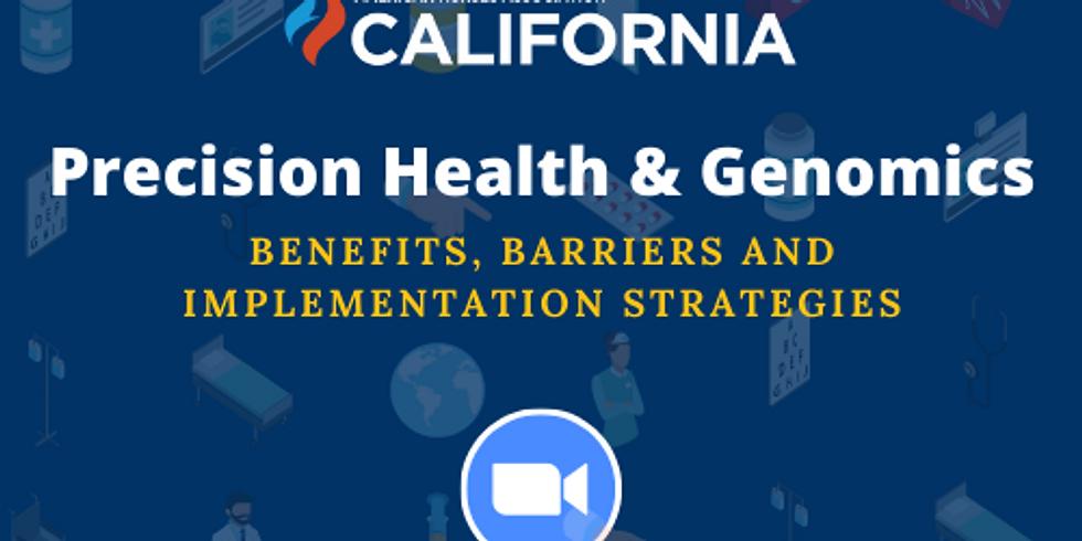 Precision Health & Genomics Webinar - 1 CEU