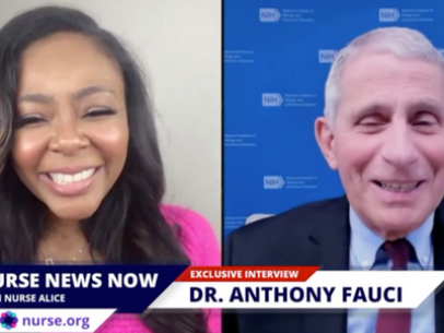 "Dr. Fauci Says Nurses are the, ""Heroes of the Pandemic,"" and Responds To Nurse Questions"
