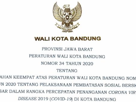 Peraturan Walikota Bandung No 34 Tahun 2020