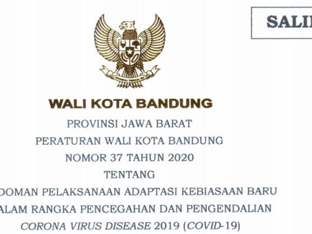 Peraturan Wali Kota Bandung No 37 Tahun 2020