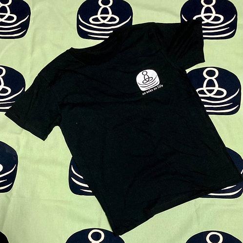 Tシャツ(ロゴ・黒)