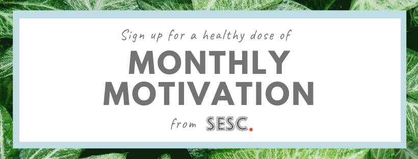 Sign up for my Monthly Motivation email