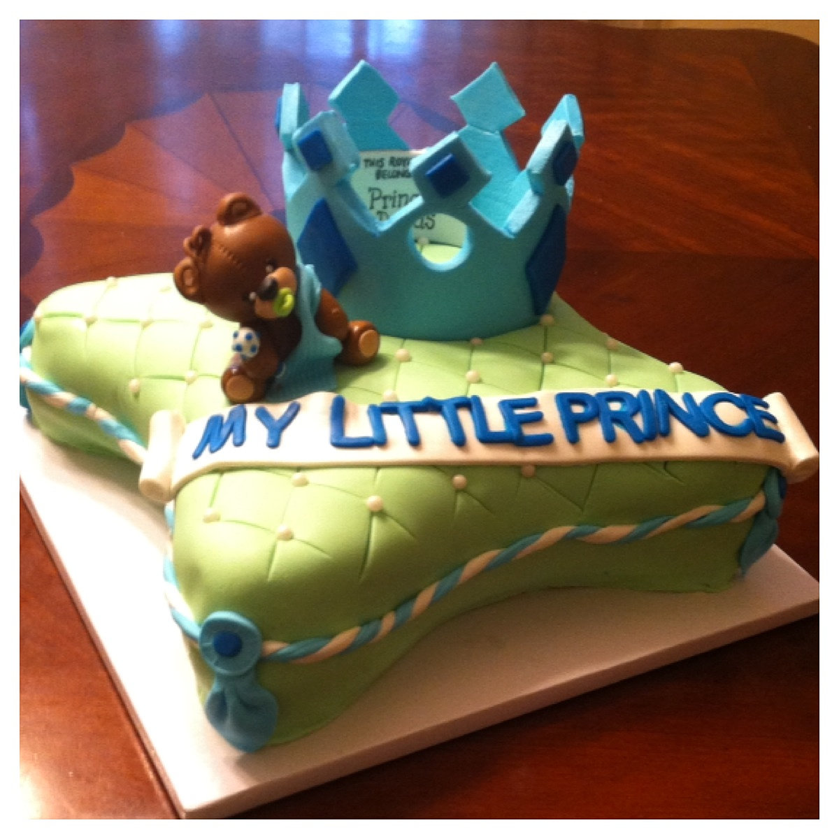 My Little Prince Baby Shower Cake