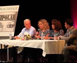 Callinan family panel at FIC book event. #youhaveavoice #speakout #callinans #beautifullybipolar www