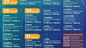 """VacuTour 29 de julio de 2021 en la AICS en horario de 11:00am a 3:00pm-modalidad """"servi-carro"""""""