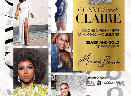 Conversations with Claire Miami Looked Really Lit! Wish I  Was There