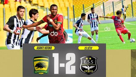 Coupe de la CAF, Sétif s'impose et la JSK chute à Bamako