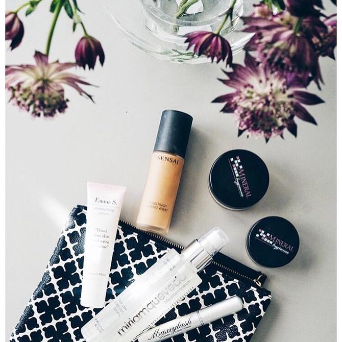 Naturlig makeup for vakker hud