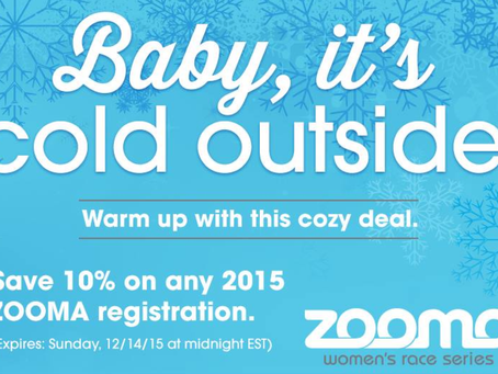 10% Discount to Any 2015 Zooma Women's Race Series Event