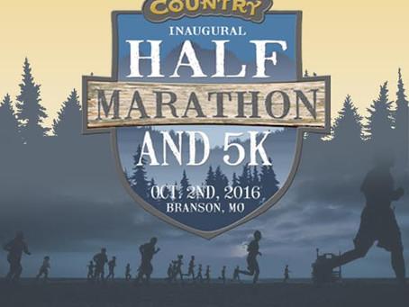 Grand Country Half Marathon Discount - Branson, Missouri