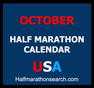 October half marathons