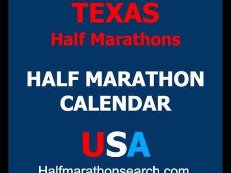 Texas Half Marathons - Growth Continues