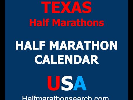 Texas Half Marathons - Growth Continues