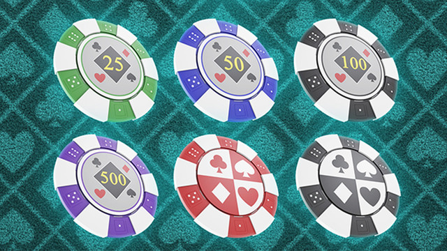 Poker Chips Product Visualization