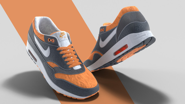 Nike Air Max Product Visualization