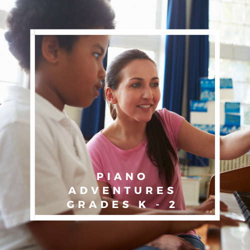 Piano Adventures 1 - Grades K - 2