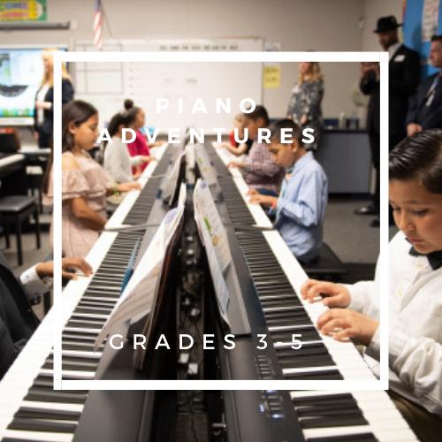 Piano Adventures 1 - Grades 3 - 5