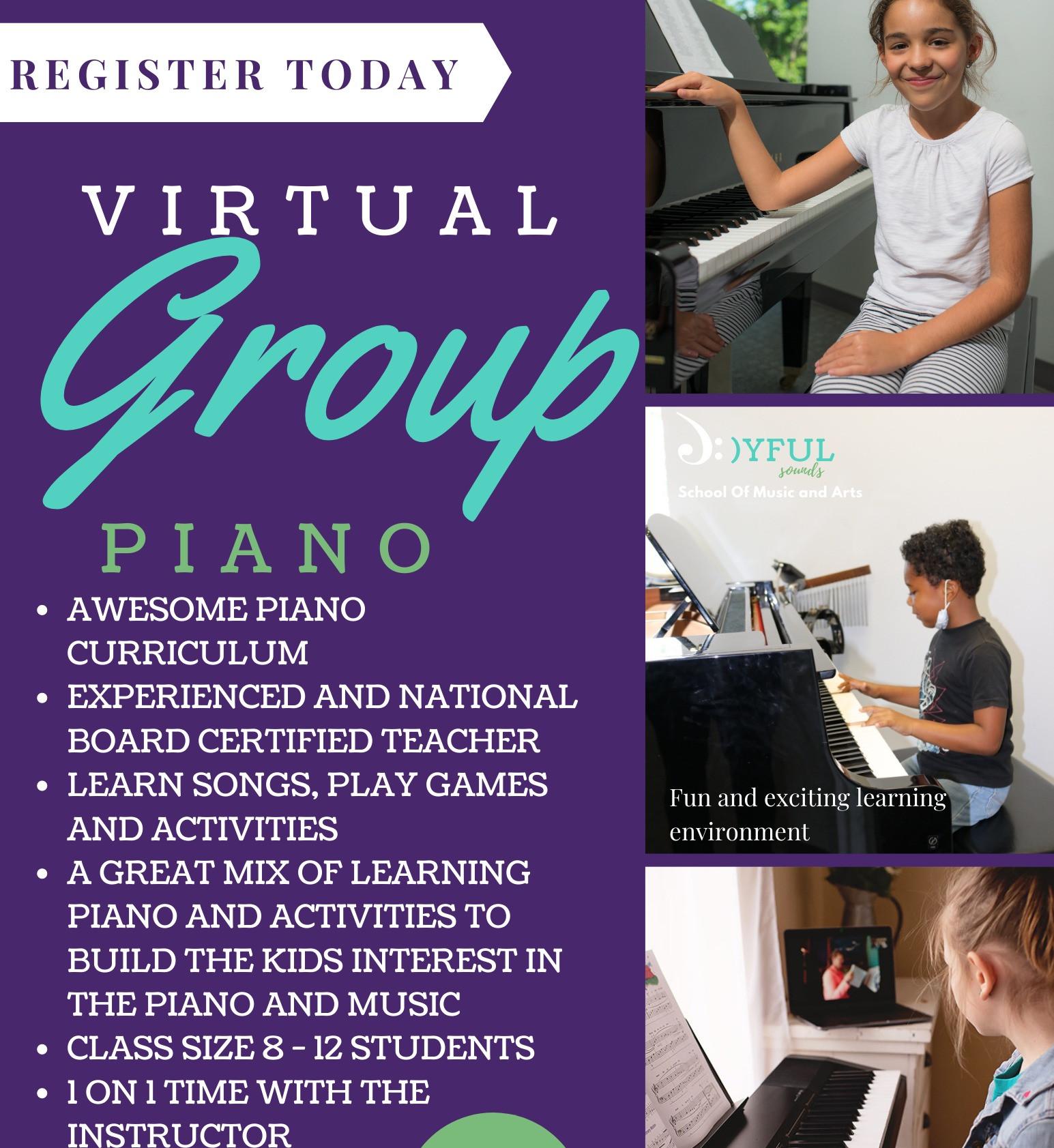 Virtual Group Piano